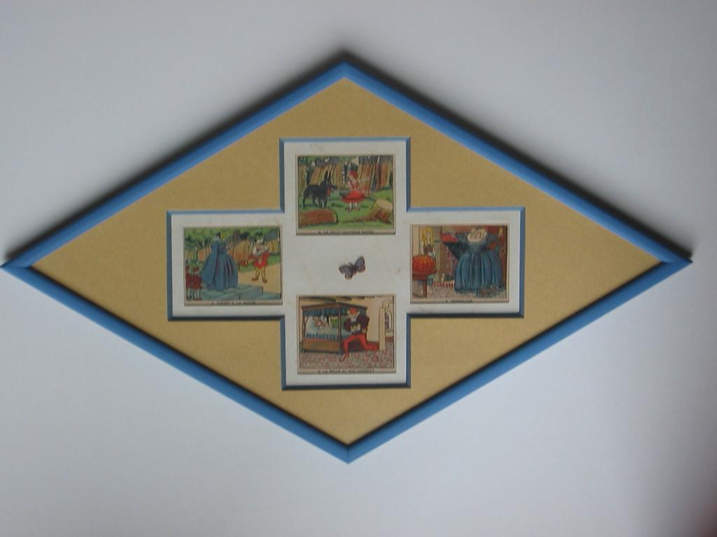 Les tout en carton d anne archive du blog cadre en for Fenetre losange