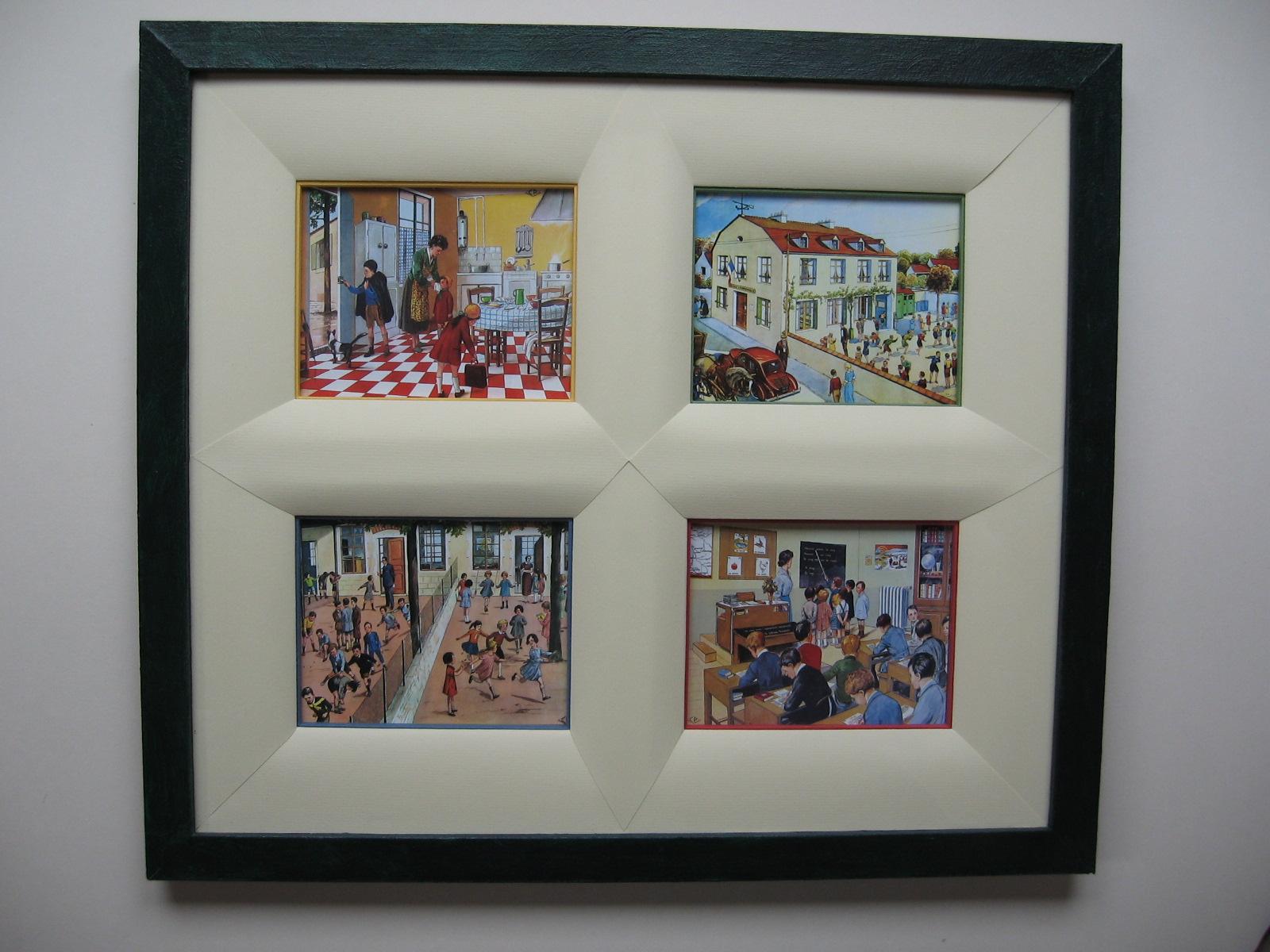Les tout en carton d anne 2009 avril for Materiel encadrement tableaux